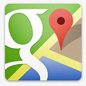 Zooming in Google Maps with one finger