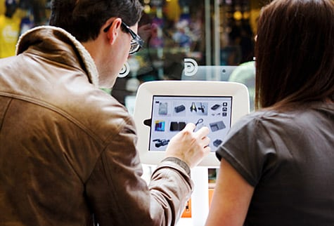 Griffin ships Kiosk display mount for iPad