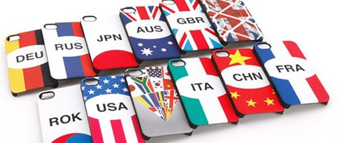 Griffin debuts Nations case for iPhone 4, 4S