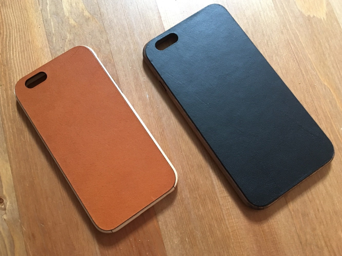 Grovemade Wood + Leather Cases for iPhone 6/6s/Plus