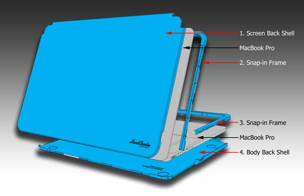 """Hard Candy Cases Hard Shell Case for 13"""" MacBook Pro with Retina display"""