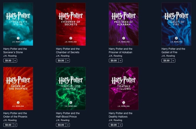 iBooks adds exclusive enhanced editions of Harry Potter series