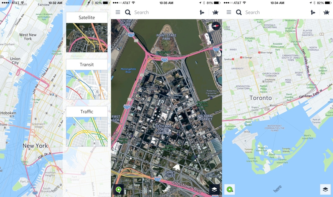 Nokia shopping around its Maps division, courting Apple