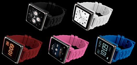 Hex intros Vision Plastic Watch Band for iPod nano 6G