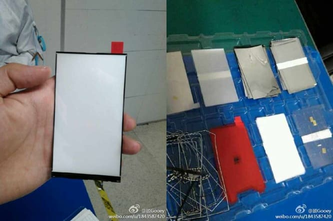 """Backlight panel for 4.7"""" iPhone leaked?"""