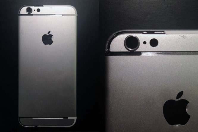 New iPhone 6 rear shell leak posted