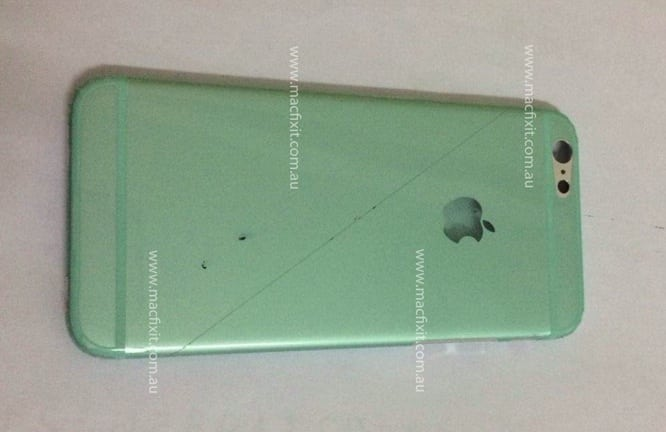 iPhone 6 rear shell leaked?