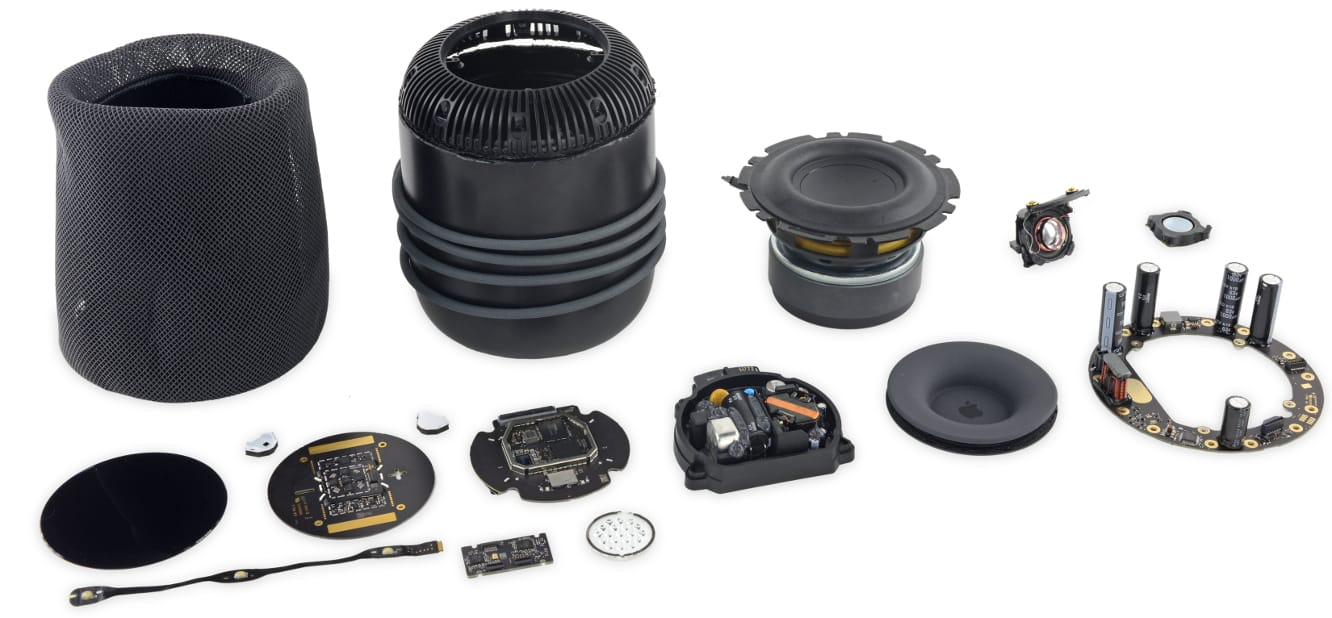 Teardown reveals HomePod isn't very repairable, but is built to last