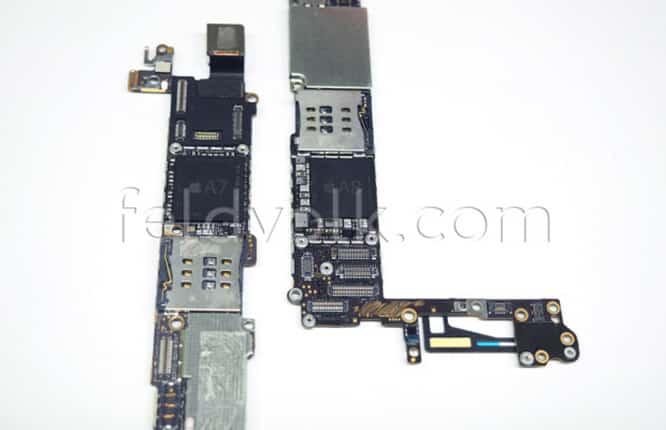 iPhone 6 logic board leak shows NFC, A8 chips