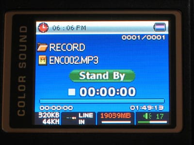 Backstage: Cowon iAudio X5, previewed