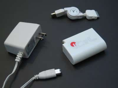 Review: Lithium House iCeL 201 External Power Pack for iPod