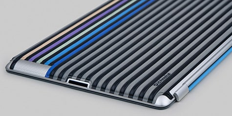 id America intros Cushi Stripe skin for iPad 2
