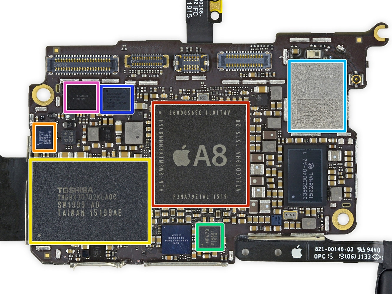 iFixit posts teardown of sixth-gen iPod touch