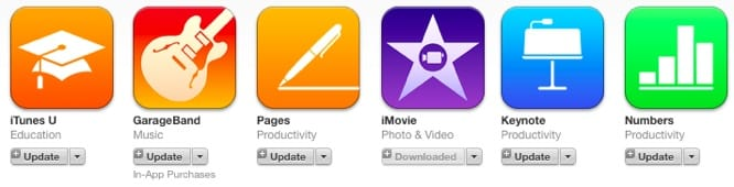 iLife and iWork apps to be pre-installed on 64/128 GB iPhone 6/6 Plus