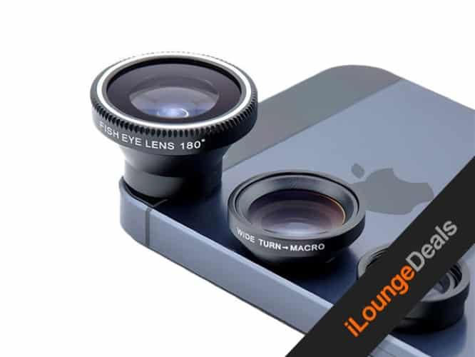 Daily Deal: Acesori 5 Piece Smartphone Camera Lens Kit