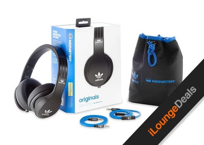 Daily Deal: Adidas Originals by Monster® Over-Ear Headphones w/ Apple ControlTalk