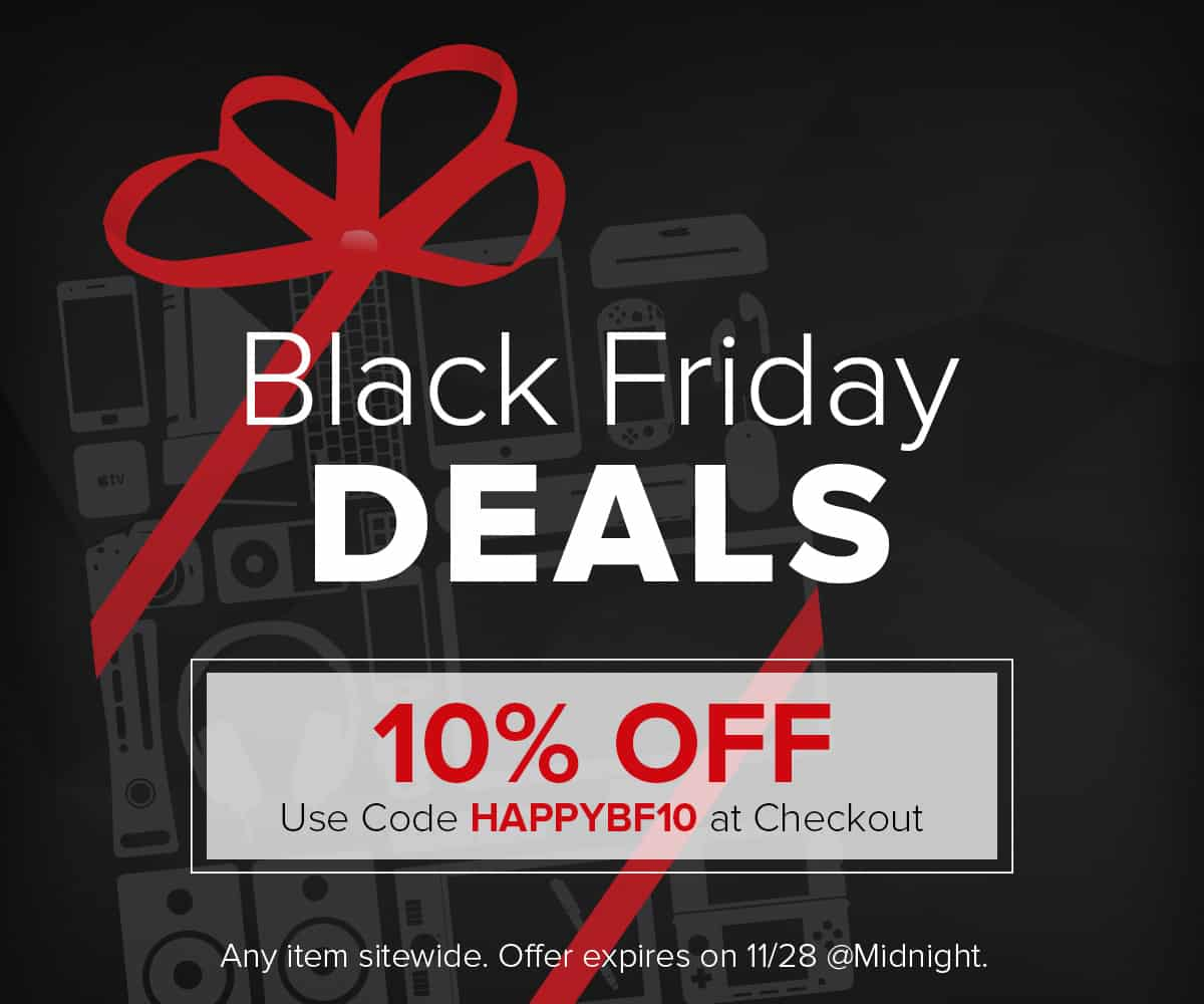Black Friday Deal: Take 10% off anything in iLounge Deals