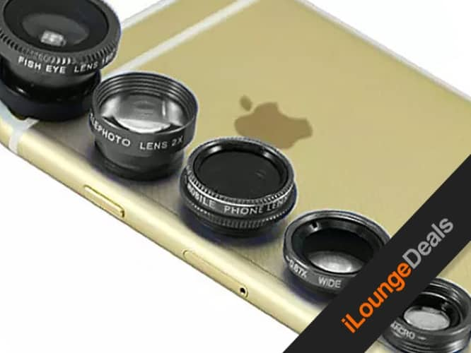 Daily Deal: Clip & Snap Smartphone Camera Lenses, 5-Pack