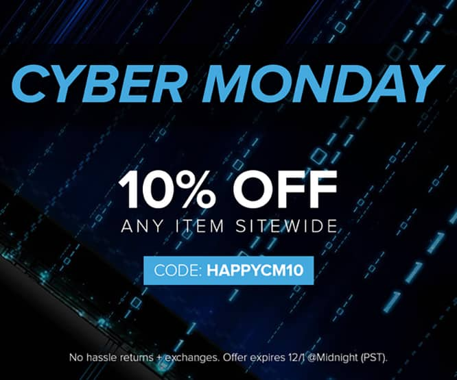 Cyber Monday Deal: Take 10% off anything in iLounge Deals