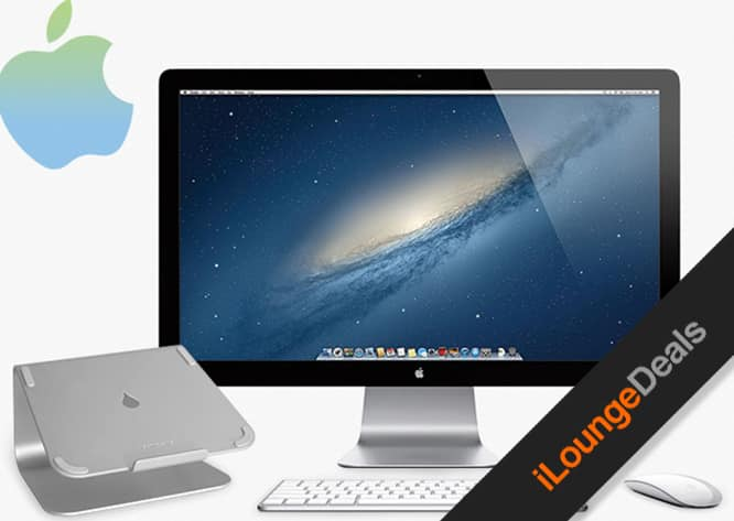 Daily Deal: The Dream Desk Giveaway - Win an Apple Thunderbolt Display + more