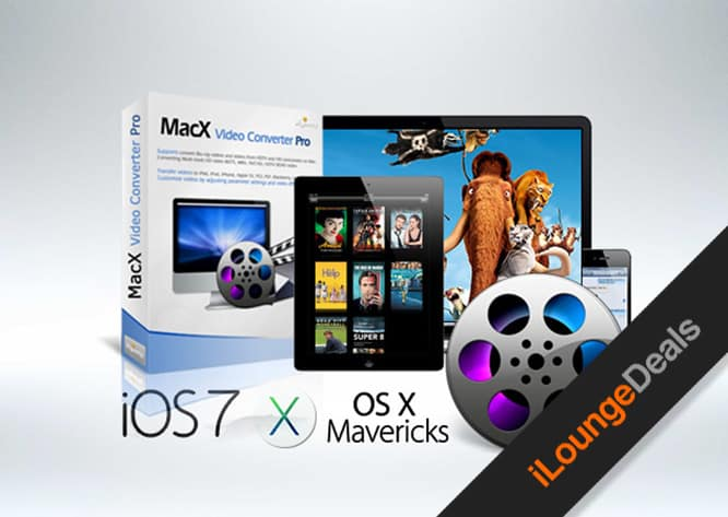 Daily Deal: Get The MacX DVD Video Converter Pro Pack for only $20
