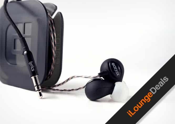 Daily Deal: Earjax 'Lyrics' Noise-Isolating Headphones