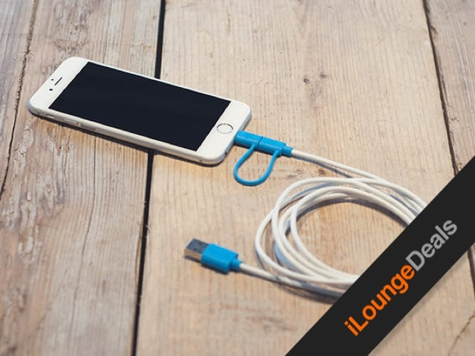 Daily Deal: Extra-Long MFi-Certified 2-in-1 iOS/Android Charging Cable