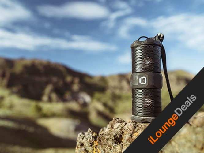 Daily Deal: G-TUBE Adventure Ready Bluetooth Speaker