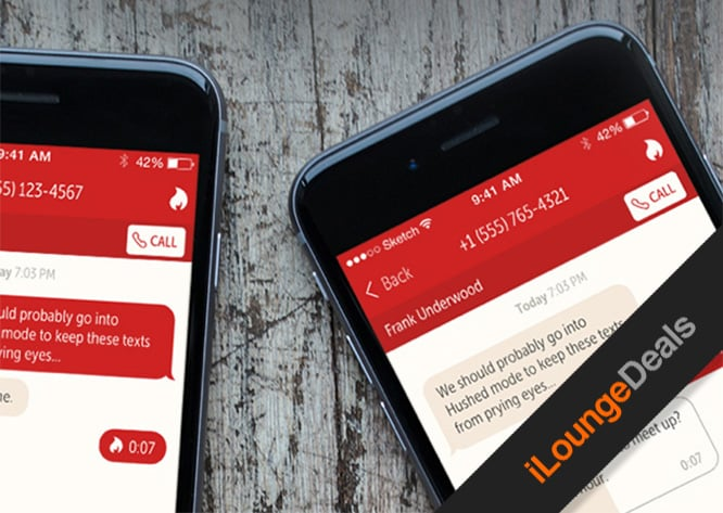 Daily Deal: Get a Lifetime of Hushed Private & Disposable Communication