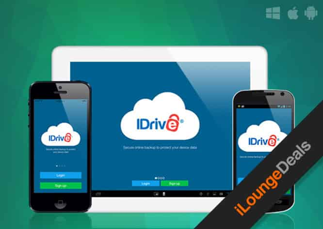 Daily Deal: 1 TB Of Online Backup with iDrive for only $19