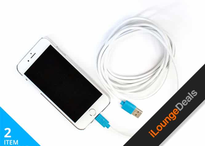 Daily Deal: The Invisible iPhone 6 Case & Colossal Lightning Cable Bundle