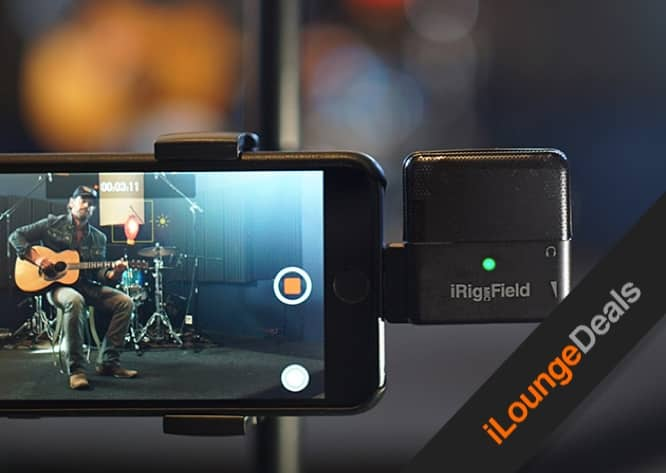 Daily Deal: iRig Mic Field: Audio & Video Recorder for iOS Devices