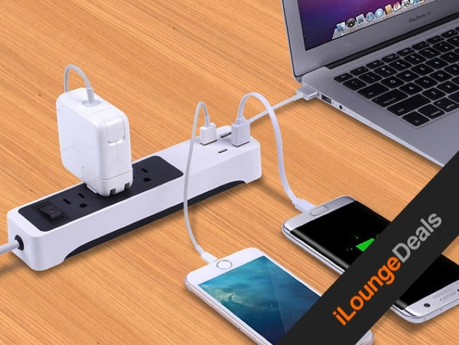 Daily Deal: Kinkoo 3-Outlet Surge Protecting Smart Power Strip