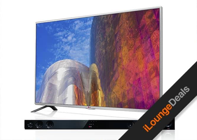 """Daily Deal: Enter to win a 50"""" LG TV + Soundbar"""