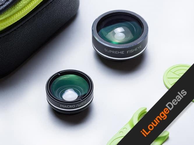 Daily Deal: LimeLens Universal Smartphone Camera Lens Set