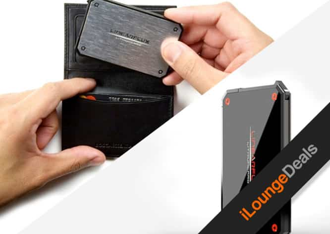 Daily Deal: Get LithiumCard, The Wallet Sized HyperCharging Power Bank, for only $39.99