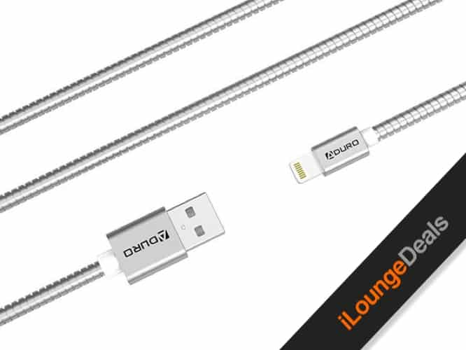 Daily Deal: Metallic Spring 3-Ft. MFi-Certified Lightning Cable