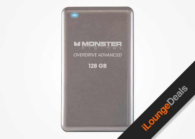 Daily Deal: Monster Digital 128GB Solid-State Portable Hard Drive