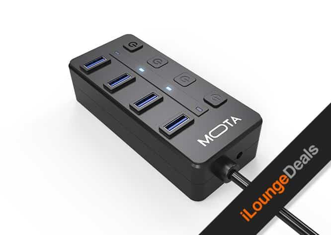 Daily Deal: MOTA 4-Port USB 3.0 Hub