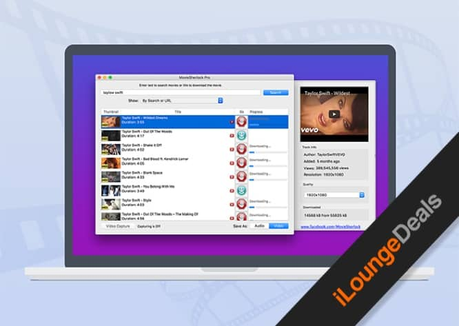 Daily Deal: MovieSherlock Pro Video Downloader for Mac