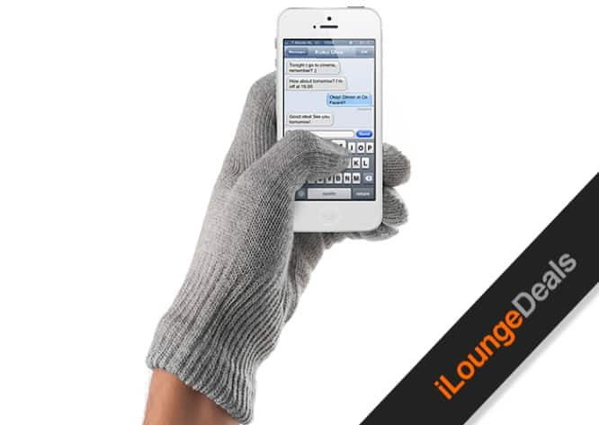 Daily Deal: Mujjo Touchscreen Gloves in Natural Gray