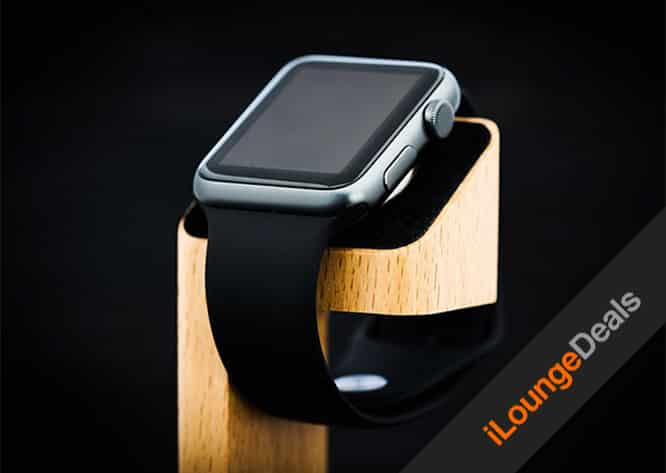 Daily Deal: Wood Apple Watch Charging Stand