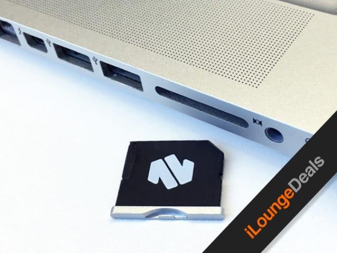 "Daily Deal: Nifty MiniDrive MicroSD Card Adapter for 13"" Macbook Air"