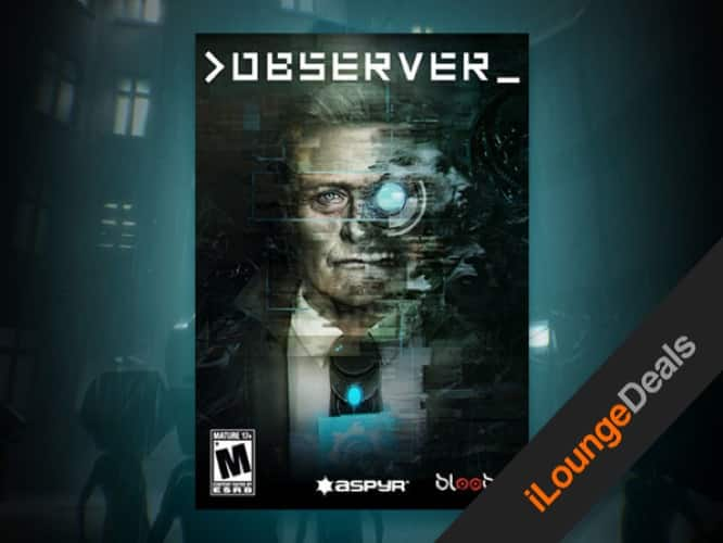 """Daily Deal: >observer_ Steam Key"""" /></p> <p>In our iLounge Deal for today, you can pick up <a href="""