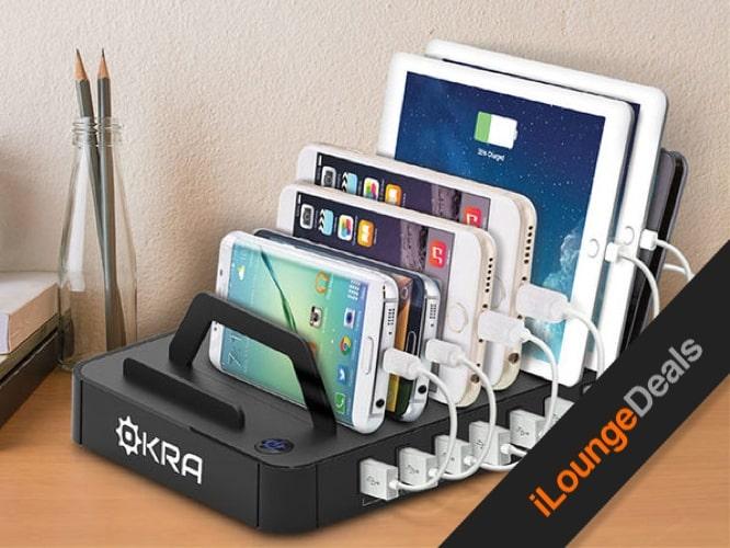Daily Deal: Okra 7-Port USB Desktop Universal Charging Station