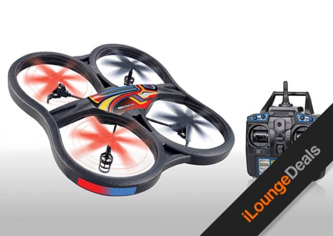 Daily Deal: Get The Panther Spy Drone UFO with Video & Picture Camera for 55% off