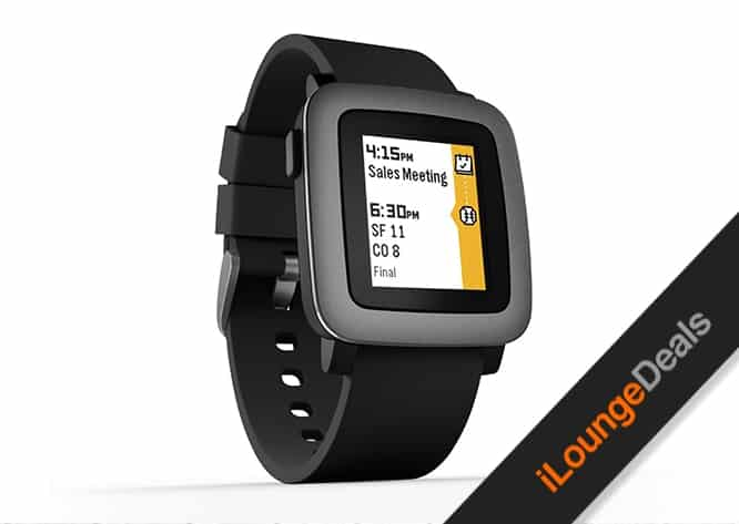 Daily Deal: Pebble Time Smartwatch