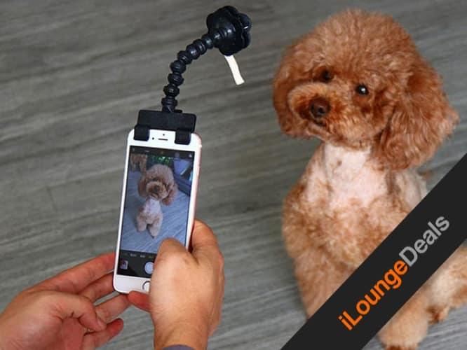 Daily Deal: Adjustable Pet Selfie Smartphone Attachment