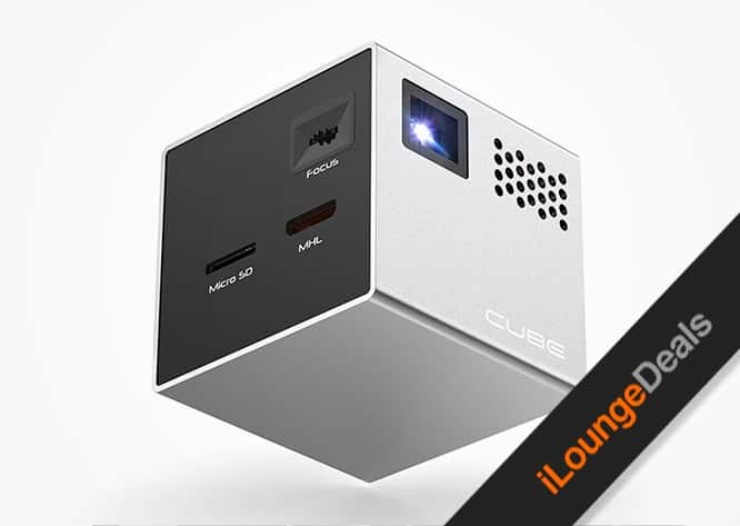 Daily Deal: RIF6 Cube Projector