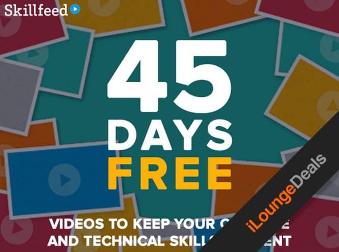 Daily Deal: Try Skillfeed for 45 days, free